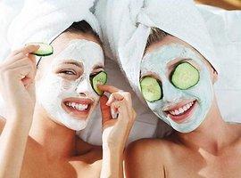 косметические маски, овощи