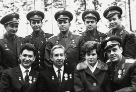первый отряд космонавтов, Россия