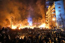 майдан, беспорядки, Украина