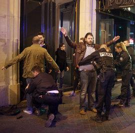 Париж, террорист