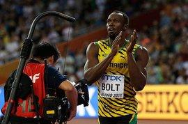 Король спринта Усейн Болт выиграл золото чемпионата мира на 100-метровке