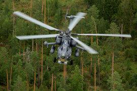 В Рязанской области сгорел вертолет