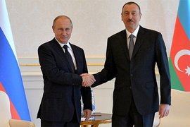 Владимир Путин, Ильхам Алиев, Азербайджан