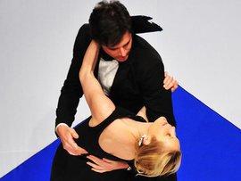 мужчина, женщина, танец, танго