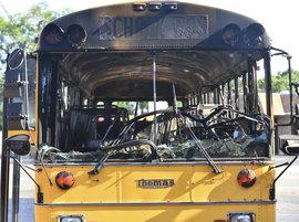 ДТП, школьный автобус, США