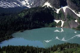 ледники, США