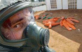 Совбез: террористы хотят применить в Москве химоружие