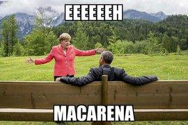 """""""Танцы"""" Ангелы Меркель на саммите """"Большой семёрки"""" покорили интернет и стали основой для множества """"фотожаб"""""""