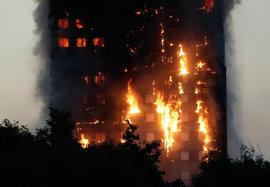 Пожар, Лондон, небоскреб