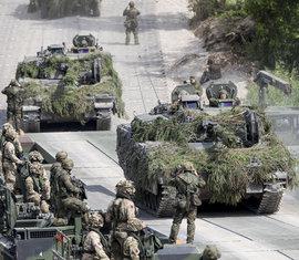 """НАТО, военные учения """"Железный волк"""", Литва"""