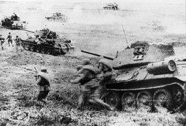Курская битва, Великая Отечественная война, танки