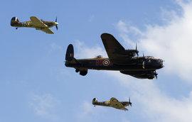 бомбардировщик Avro Lancaster, Англия