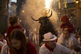 Бег с быками в Испании: наперегонки со смертью
