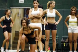 Прелести женского футбола (фото)