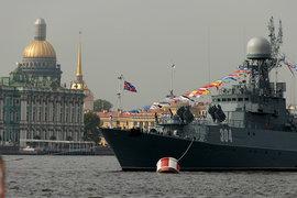 военно-морской парад. Россия