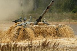 Т-72Б3, танк, танковый биатлон