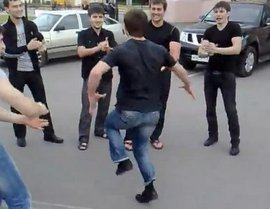 Лезгинка по правилам и без (ВИДЕО)