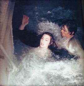 """Кейт Уинслет, Леонардо ДиКаприо, """"Титаник"""""""