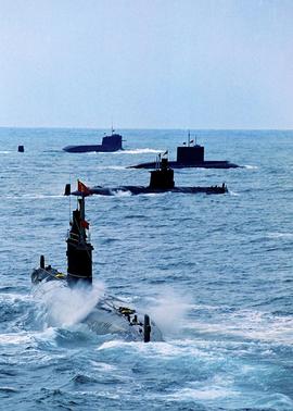 подводные лодки, Китай, ВМФ