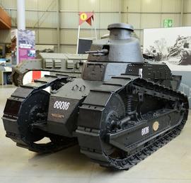 танк Renault FT-17, Бовингтонский музей танков, Великобритания