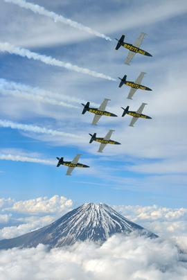 """Пилотажная группа """"Breitling Jet Team"""""""