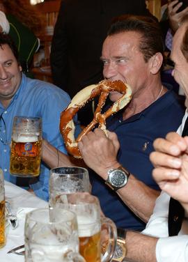 Арнольд Шварценеггер, пиво, Октоберфест