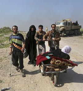 беженцы, Мосул