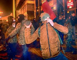 Киев, радикалы, погром