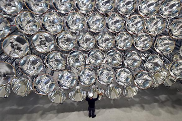 Le plus grand soleil artificiel créé en Allemagne