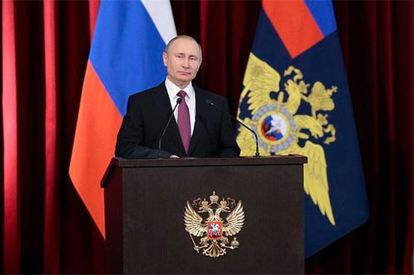 """""""Grâce à Poutine, la Russie est en jeu"""""""