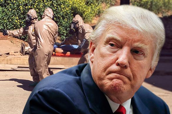 Trump a changé d'avis envers Assad après l'attaque chimique d'Idleb