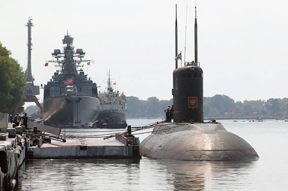 QG russe : La flotte de la Mer Noire neutralisera l'ennemi encore dans ses bases.
