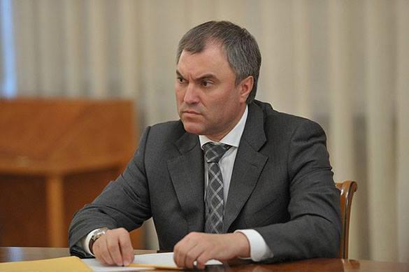 Poutine a proposé la candidature de Volodine comme chef de la Douma