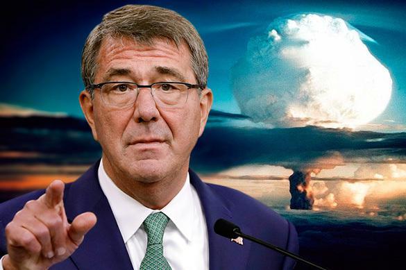 """Chef du Pentagone: Rien que les armes nucléaires nous sauvent de la """"Terrible Russie"""""""