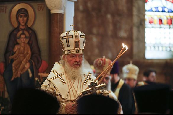 Le Patriarche de Russie chez la Reine Elisabeth II