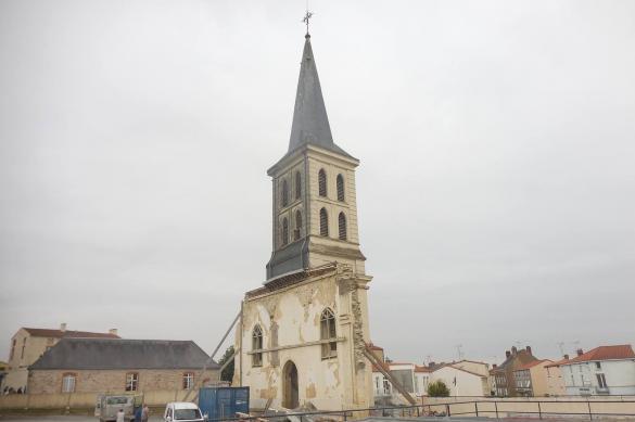 Gesté: le village français qui a détruit son église
