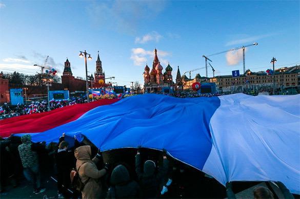 Dans leur très grande majorité les Russes soutiennent la politique du gouvernement