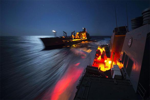 Les Etats-Unis ne peuvent pas faire mouiller leur VI-ième flotte à côté de la Crimée