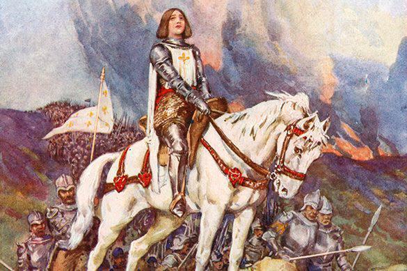 Personne n'a le droit de profaner l'image de Sainte Jeanne D'Arc