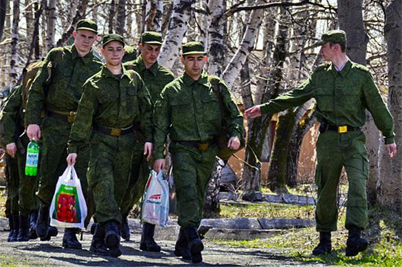 Le service militaire est fort prisé en Russie