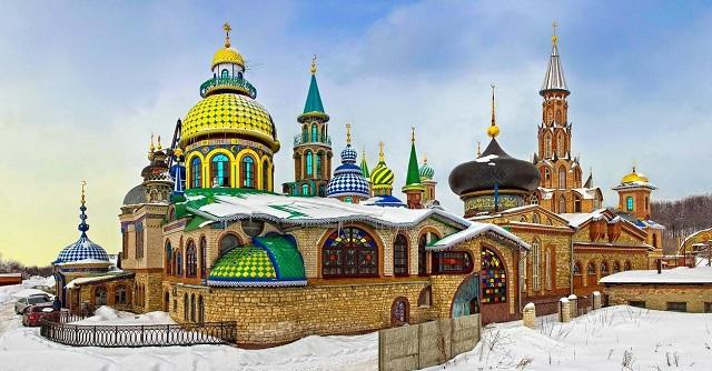 """Единственный в мире """"Вселенский храм"""" находится в России"""