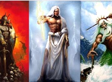 Древнегреческие боги. Три брата