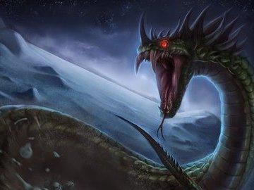 Древний дракон Василиск: что это за мифическое существо?