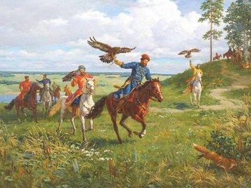 Царская охота: как охотились русские правители
