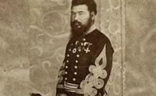 Японский Самурай в числе русской армии