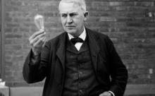 На самом деле Эдисон не изобретал лампу накаливания. Но все равно изменил мир