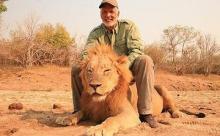 Мужчина решил доказать свою храбрость, сфотографировавшись с мертвым львом