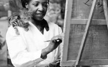 Первая темнокожая художница: как Лоис Мейлу Джонс завоевывала  признание