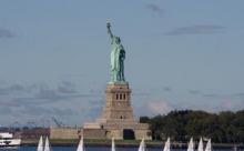 Как строили статую Свободы