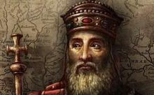 Карл Великий - основоположник династии Каролингов